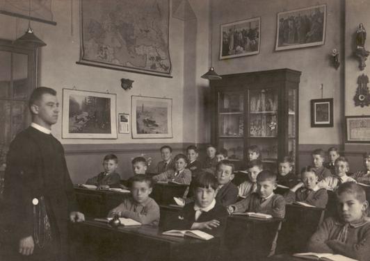 Een klas circa 1922.