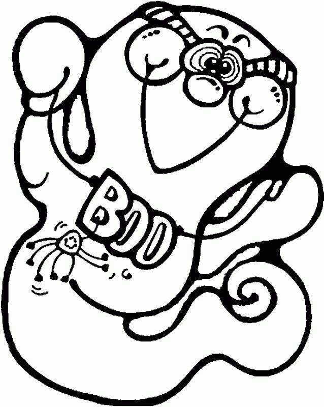 cute ghost coloring pages for toddlers