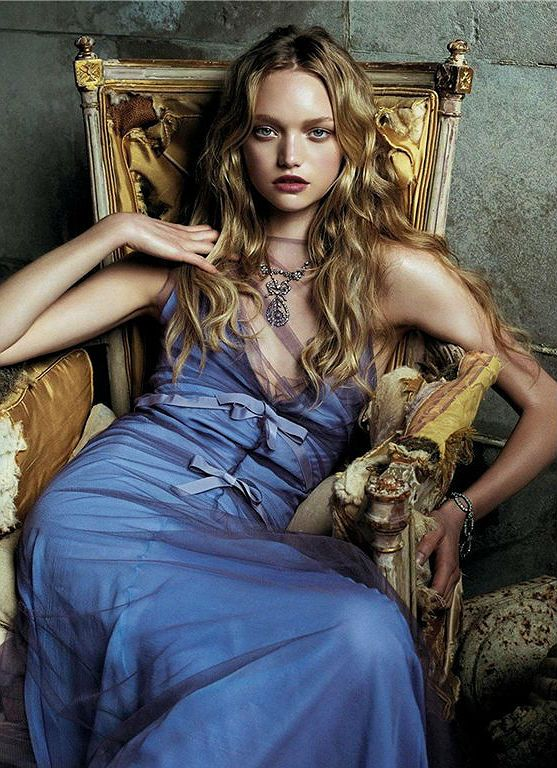 WE ♥ THIS!  ----------------------------- Original Pin Caption: G is for Gemma Ward