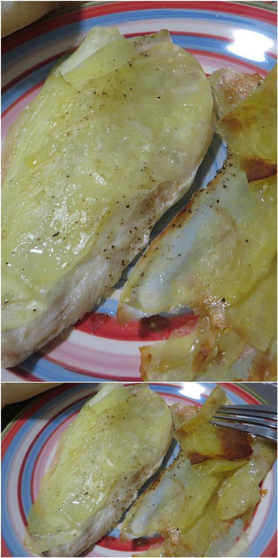 Orata in crosta di patate! #orata #patate #pesce #ricettegustose