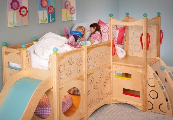 jungle bunk bed with slide 3