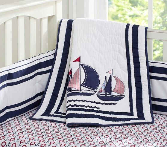Nautical Infant Bedding: 10+ Images About Nautical Baby Or Toddlers Room Ideas On
