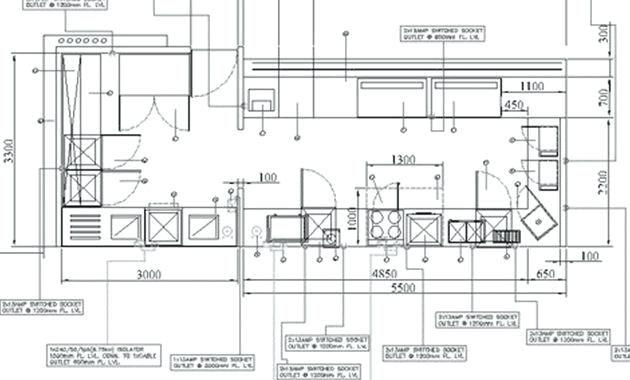 standard kitchen layouts free restaurant kitchen design