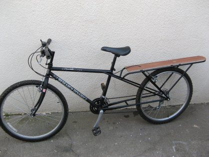 Gas Motorized cargo Bicycles | HF 79cc Utility Bike - Motorized Bicycle - Engine Kit Forum
