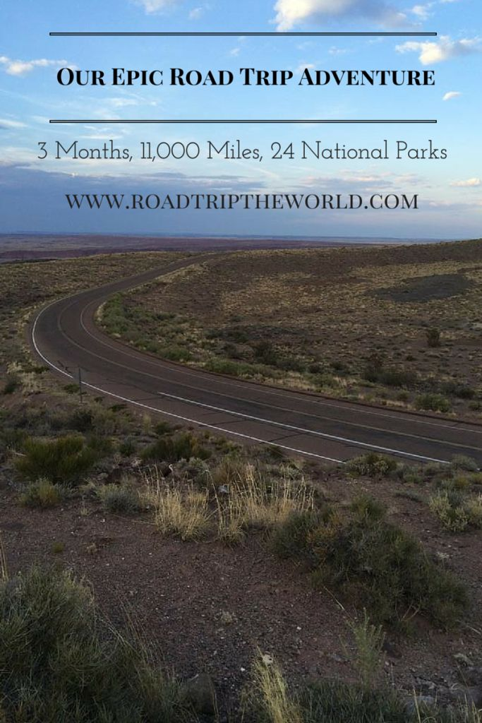 3 Months, 11,000 miles, 24 National Parks with 4 kids. Read about it at www.roadtriptheworld.com