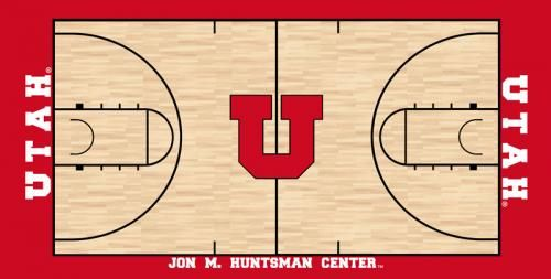 11 best images about utah utes sports on pinterest logos for Sport court utah