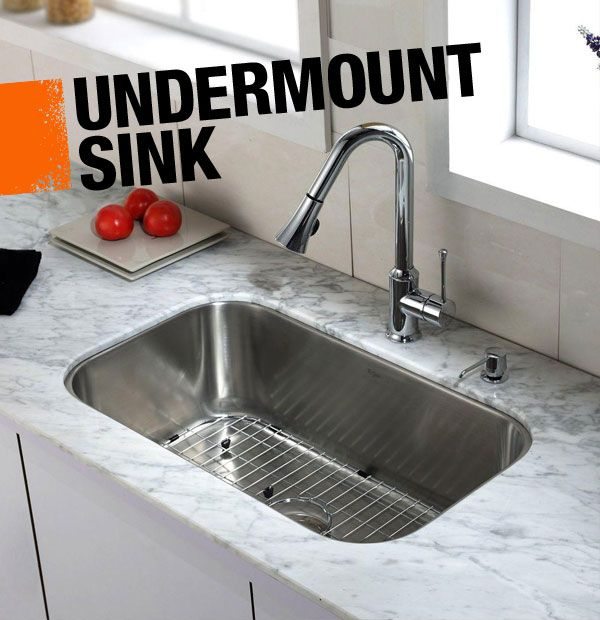 Why have 2 sinks?!?! No need when we've got a dishwasher...this size is nice