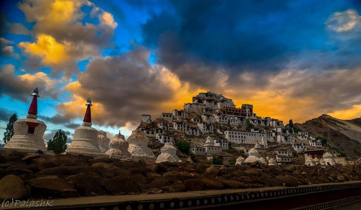 Thikse Monastry, Ladakh