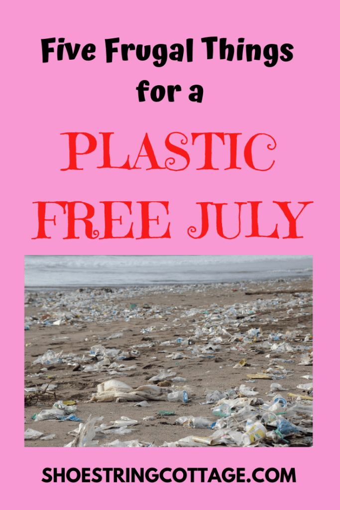 Five Frugal Things for a Plastic Free July #plasticfreejuly – Fabulous lifestyle