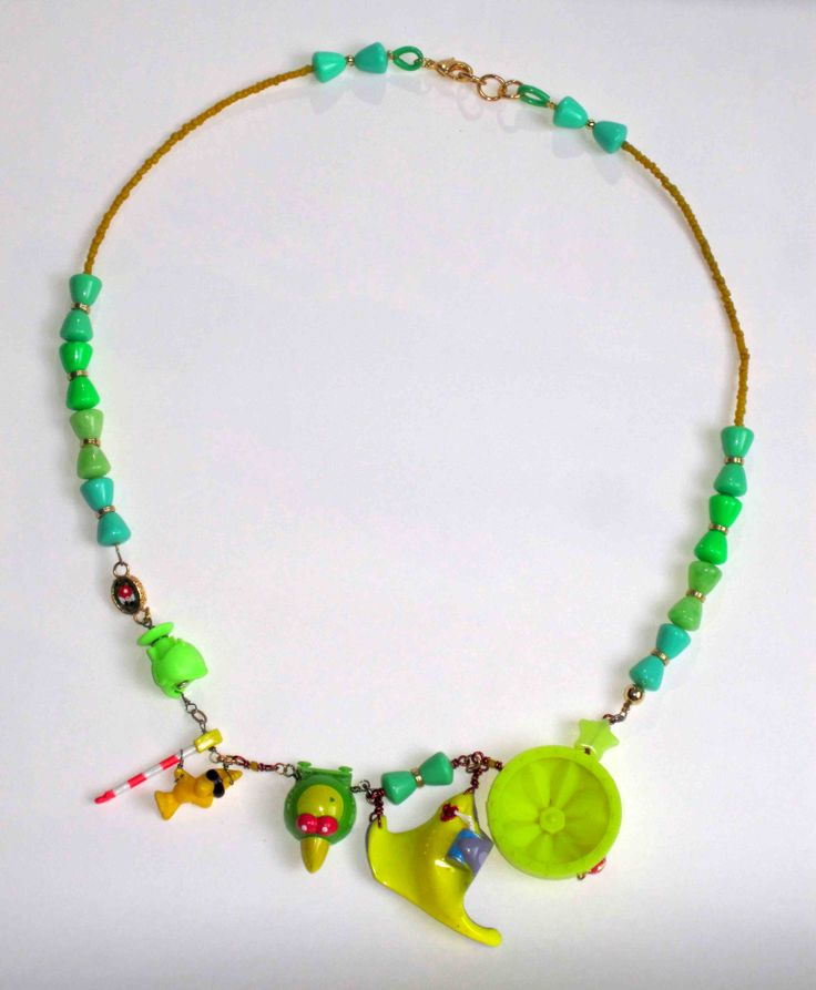 """La bijoutiste"", Marie Morato,  - bijoux-jouets"