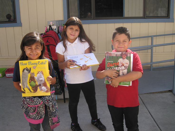 Three of our readers from Juliette Low Elementary