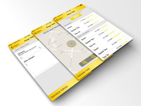 Clever Taxi (redesign) on Behance
