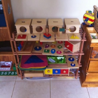 Harry's Montessori room