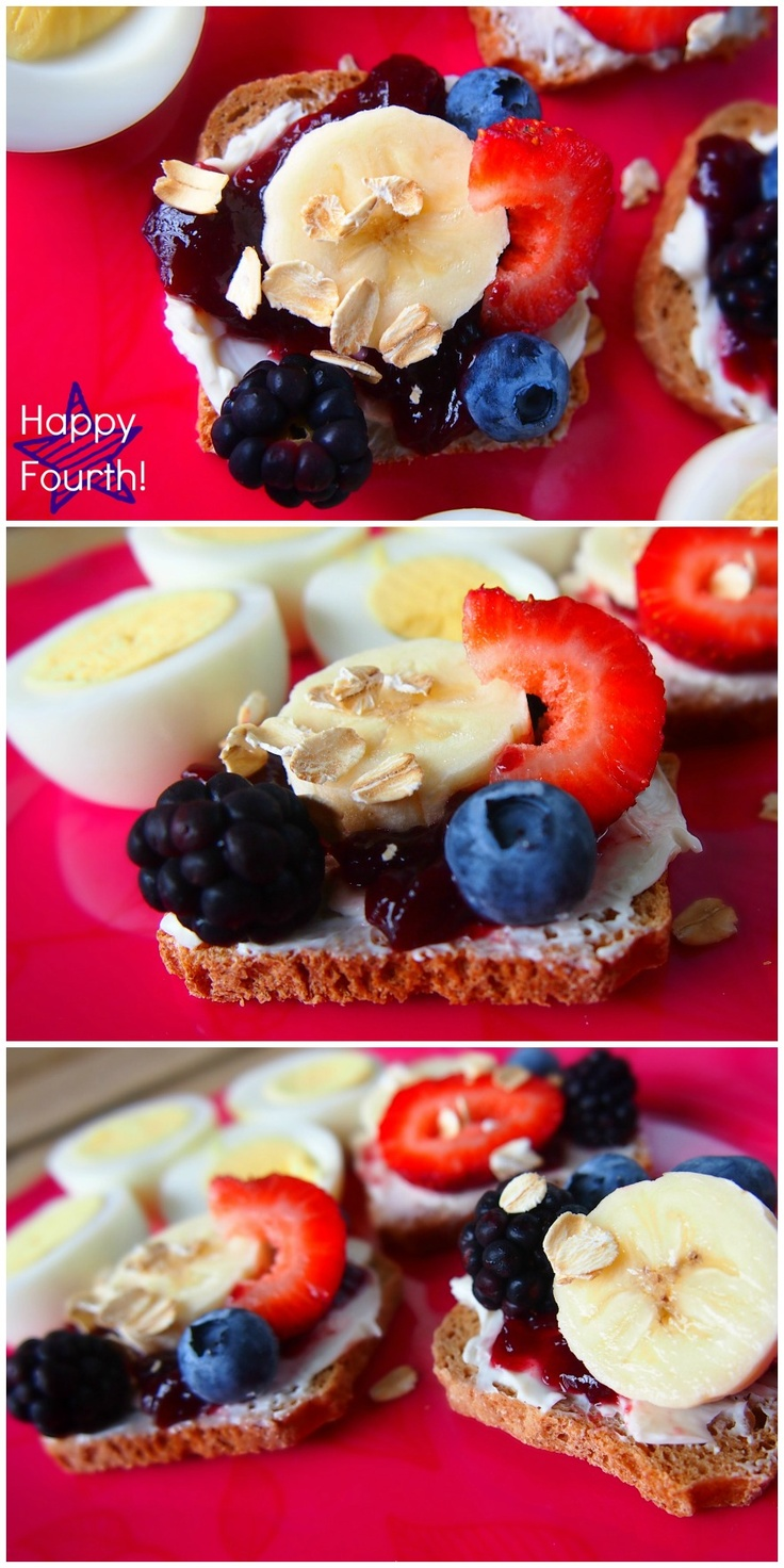 4th of July Inspired Breakfast!: Breakfast Ideas, Breakfast Time, Good Things, Better Breakfasts, Grocery List, Cream Cheese, Healthy Breakfast, Inspired Breakfast, 4Th Of July