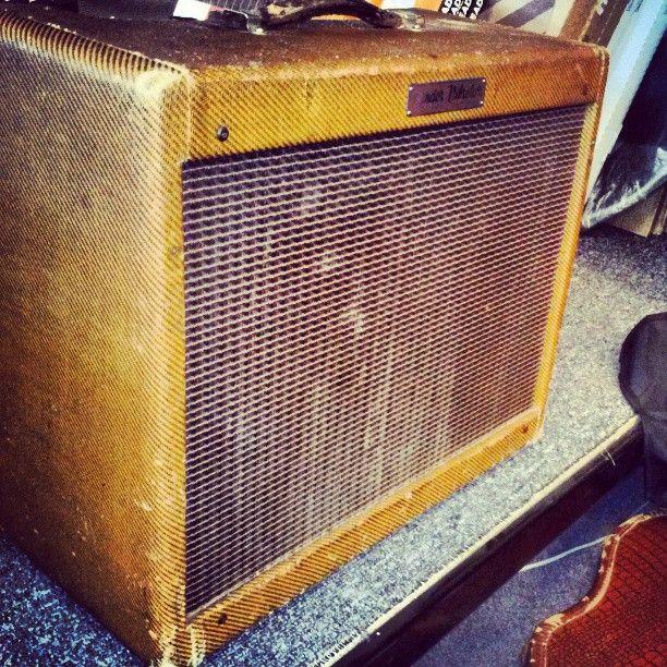 1955 Fender Vibrolux amp.