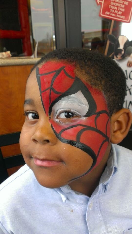 29 best spiderman face paint images on pinterest spiderman face spiderman face painting superhero face painting ideas boy designs by corey morgan solutioingenieria Image collections