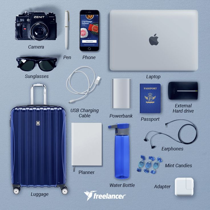 What do you take with you on your workcation? #digitalnomads #futureofwork #freelancing #workanywhere