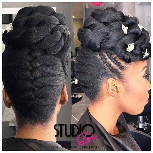 561 best updos images on pinterest hairstyles natural beautiful updo httpcommunityhairinformationhairstyle gallery pmusecretfo Images