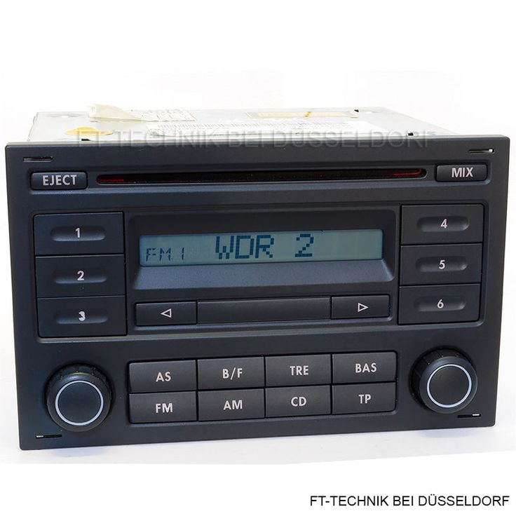 ein vw cd radio rcd 200 mit code passend f r golf 4 bj 1997 2005 polo 4 bj 2005 2009. Black Bedroom Furniture Sets. Home Design Ideas