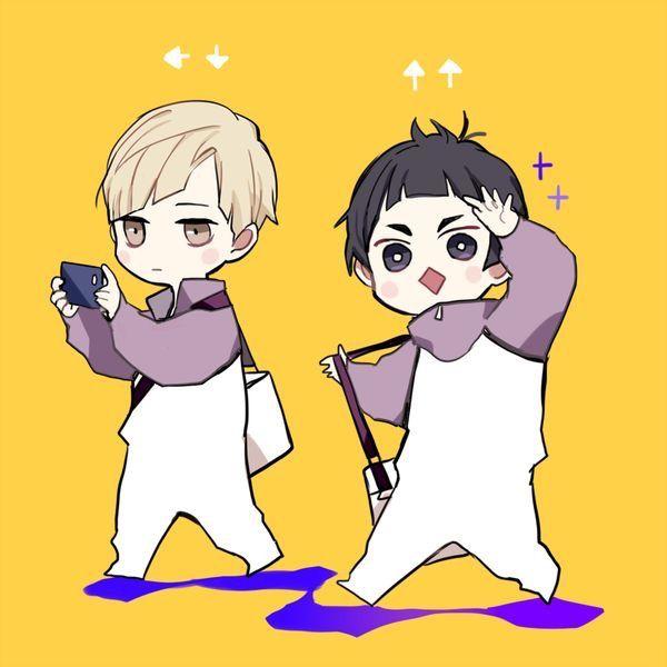 Shirabu and Goshiki