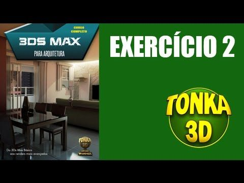 Primeiros passos no 3ds Max 2015. Saber modelar é fundamental para qualquer artista 3D. Neste tutorial, Rodrigo Banzato (www.rodrigobanzato.com) explica os primeiros passos para quem quer aprender 3D já com base no 3ds Max 2015. Este tutorial faz parte do curso 3DS MAX COMPLETO (www.tonka3d.com.br/curso-3ds-max.html) que aborda o passo a passo inicial da aprendizagem incluindo mais de 60 vídeos e 19 horas de videoaulas em DVDs.