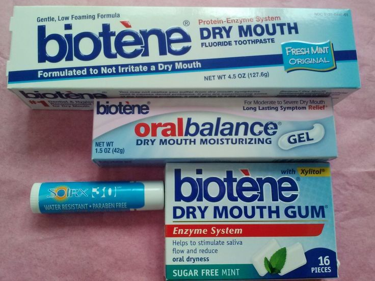 Biotene Mouth Moisturizer Kit | Dry mouth and chemo mouth sore relief