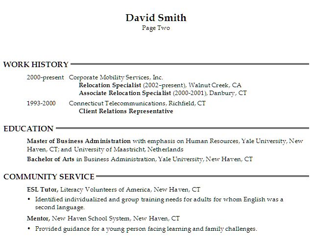 22 best basic resume images on pinterest