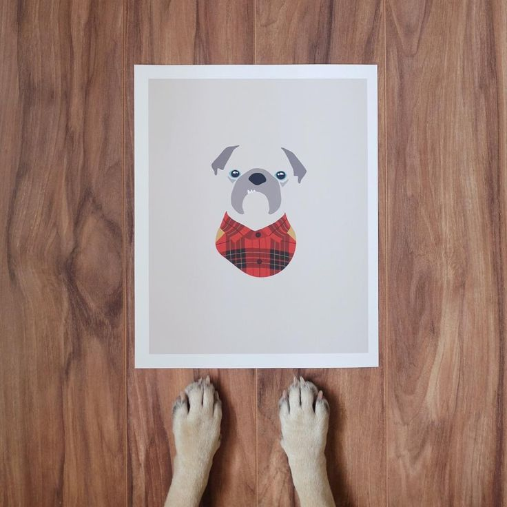 """I love this custom portrait of Norm done by the fine folks over at @woofmodels! "" 