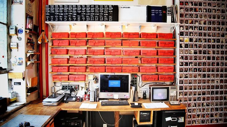 Out of clutter find simplicity. The organisation method of Casey Neistat. Studio Series Vol 1. The Red Boxes.