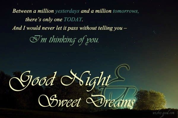 good night wishes for you