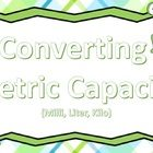 24 task cards geared towards students learning how to convert between metric capacity ((milliliter, liter , and kiloliters))   I also have converti...