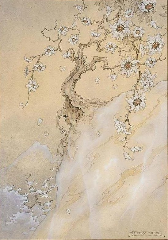 "Anton Pieck (Dutch, 1895-1987). Illustration from ""The Arabian Nights."" 1943."