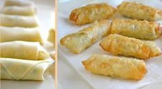 Na Cozinha da Margô: Rolinhos de Massa de Pastel