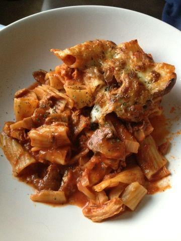 Slimming World recipes: Tomato & mozzarella pasta bake