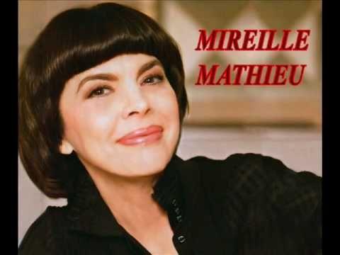 Mireille Mathieu sings Santa Lucia.wmv - YouTube