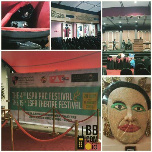 """Jasa Sewa HT / Jasa Rental HT (Handy Talky) Jakarta Pusat, Sudirman, LSPR, Event """"LSPR Theatre Festival 2015""""  Official Website : www.bbcom.id"""