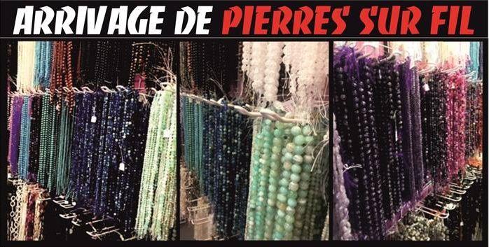 Arrivage de PIERRES RONDES SUR FIL de 4 mmØ à 12 mmØ : Aventurine, Agate, Lapis-Lazuli, Corail...  LIEN DIRECT: http://www.grossiste-toulouse.com/fr/427-pierre-veritable-au-fil  Chez votre Grossiste Bijoux Ouvert à Tous au 21 rue Pierre de Fermat à Muret aux portes de Toulouse ou bien sur www.grossiste-toulouse.com !!!  A tout de suite