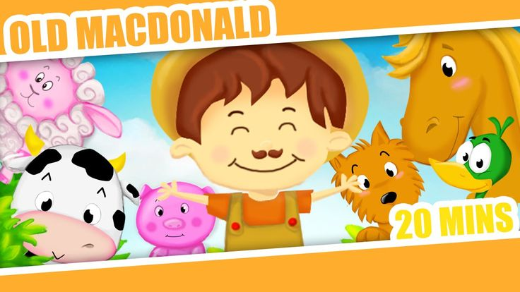 Old MacDonald Had A Farm and More Classic Nursery Rhymes