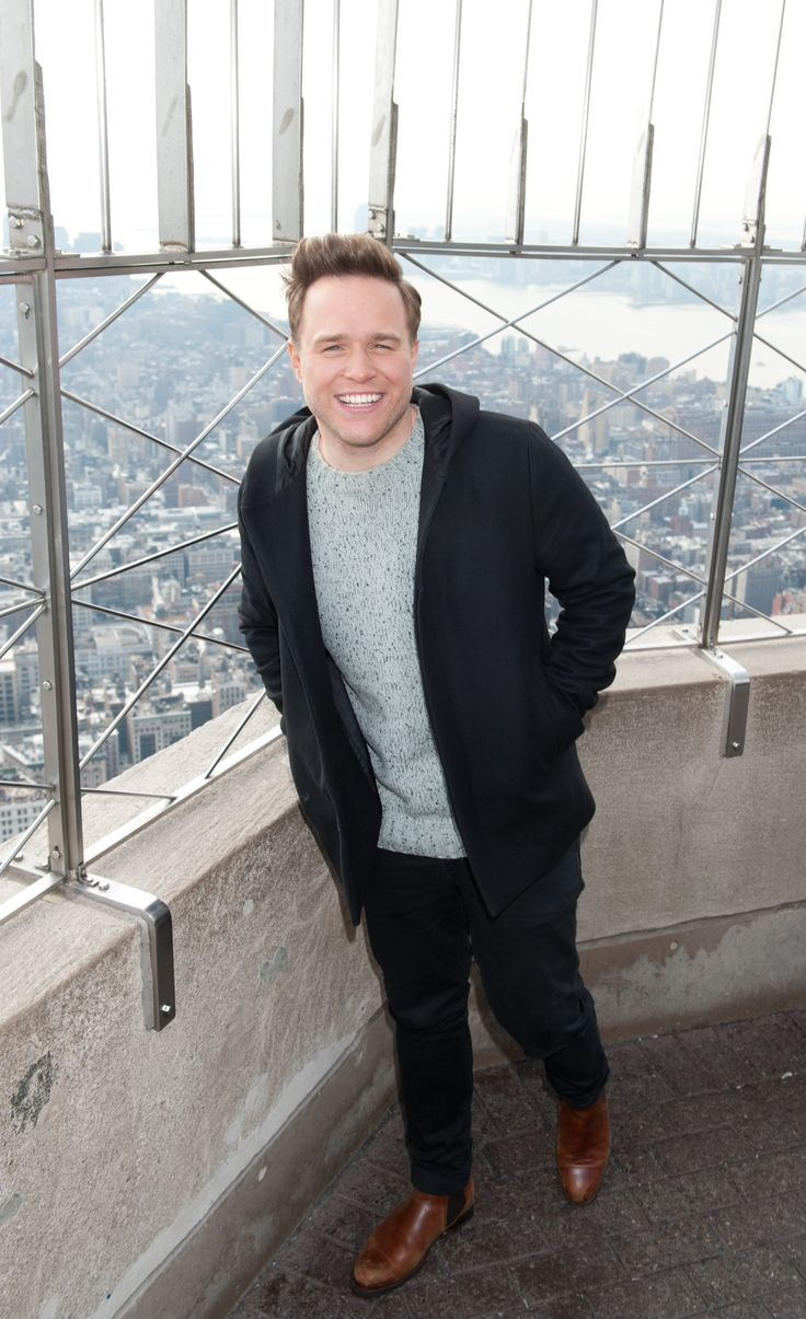 January 14, 2015: Olly Murs visits the Empire State Building to celebrate the U.S. release of new album #NeverBeenBetter.