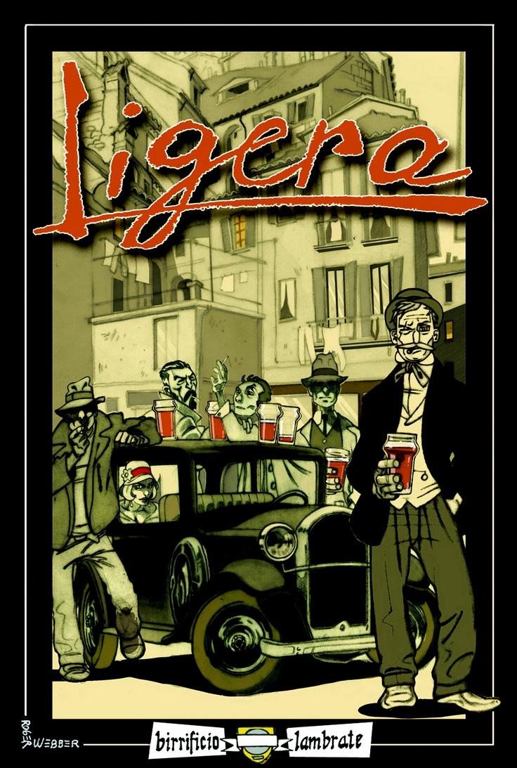 Birra LIGERA stile American Pale Ale 5%vol.