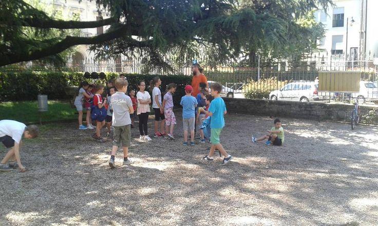 Prima settimana di centri estivi al #museozannato..tante attività ma anche giochi! #kids #summer #alcerosso