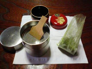 Tales of Japanese tea: Sifter for matcha makes tea delicious!