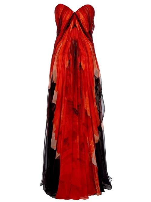 alexander mcqueen: Long Dresses, Maxi Dresses, Alexander Mcqueen, Red Outfits, Style, Gowns, Bustiers Dresses, Mcqueen Chiffon, Chiffon Bustiers