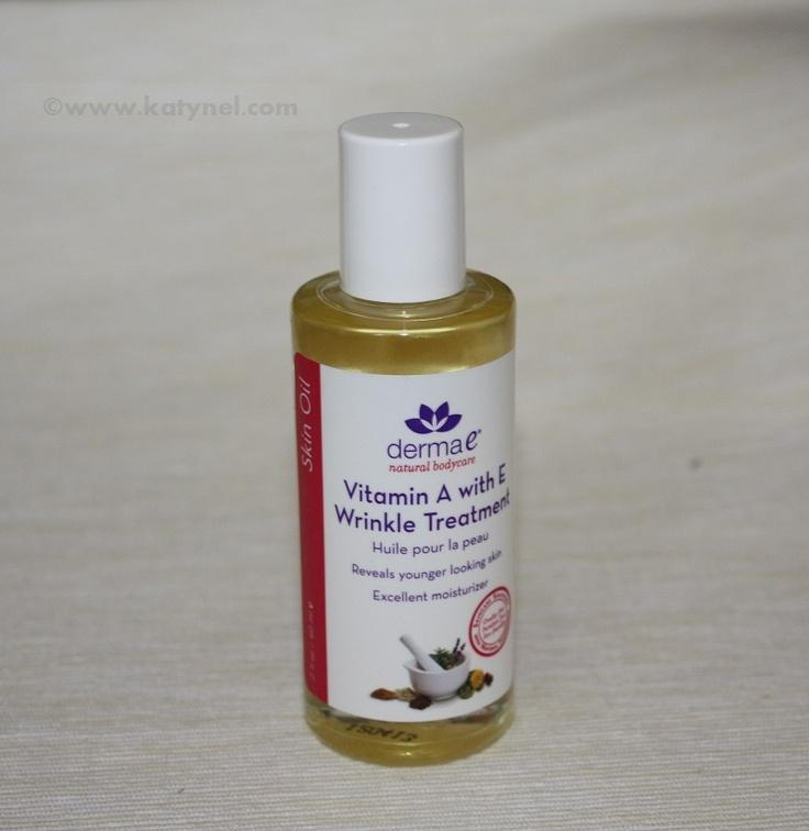 Excellent moisturizer from Derma E