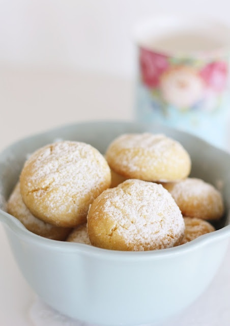 Custard cookie recipe