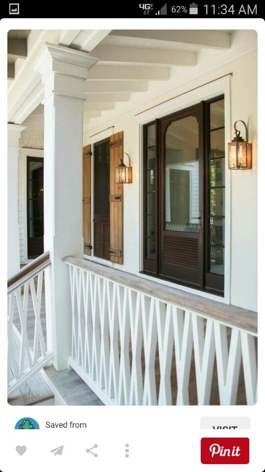 27 Best Country Porch Railings Images On Pinterest