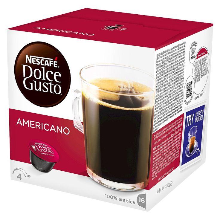 Nescafe Dolce Gusto Americano Coffee Capsules 16ct