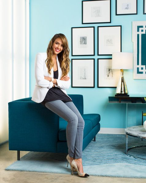 Jessica Alba partners with CB2 to create a multifunctional work space with plenty of visual appeal.  Click through to see the full story now!