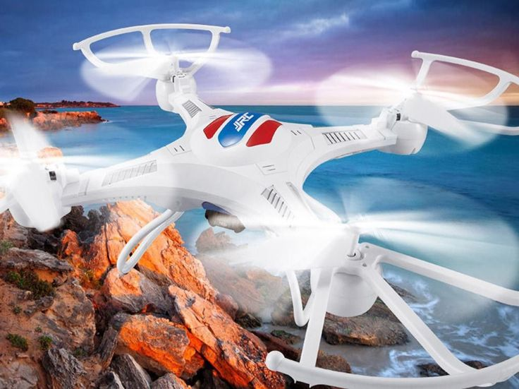 S15855 JJRC H15 Large RC Quadcopter One Key Auto Return RC Drone Helicopter RTF UAV with 0.3mp HD Camera FS