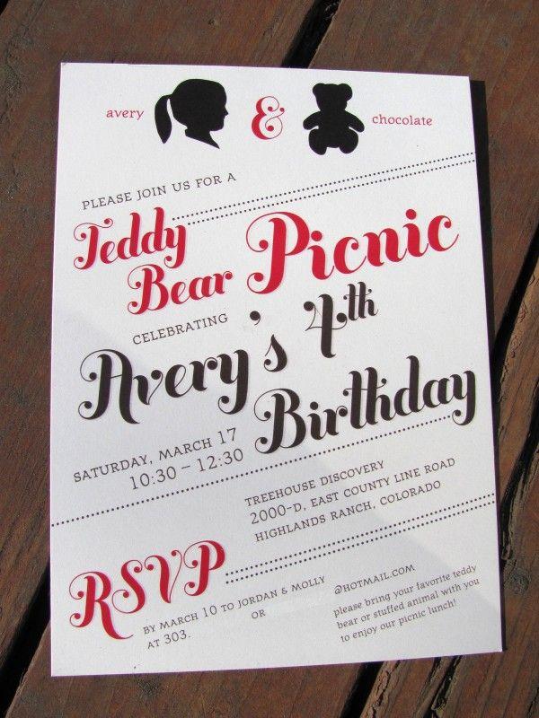 162 best Birthday - Teddy bear Picnic images on Pinterest   Beach ...